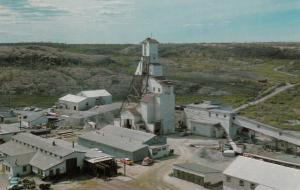 Yellowknife , N.W.T. , Canada , 40-60s ; C Shaft of Gold Mine