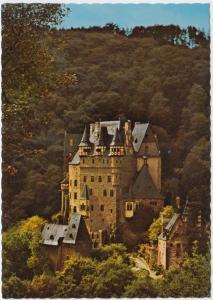 BURG ELTZ, Ostseite, Eltz Castle, unused Postcard