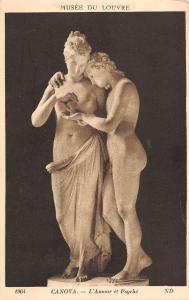 BR70843 canova l amour et psyche greece postcard sculpture
