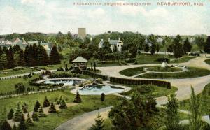 MA - Newburyport. Atkinson Park, Bird's Eye View