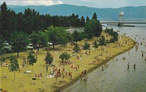 Kelowna Beach,  Kelowna,  B.C.,  Canada,  40-60s