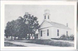 Baptist Church & Parsonage, Granville MA (1975 Print)