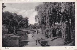 HERFORD, North Rine-Westphalia, Germany; Werrepartie, PU-1938