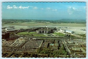 Seattle, Washington WA ~ SEA-TAC AIRPORT ca 1970s  4 x 6 Postcard