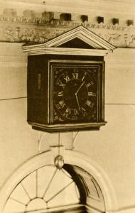 VA - Charlottesville. Monticello, Seven-Day Clock in Entrance Hall