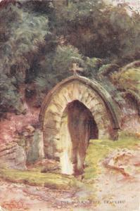 Postcard Art, New Forest, The Monks Well, Beaulieu by Walter Tyndale c1904 #242