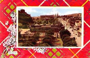 Princes Street from Scott Monument Edinburgh Scotland, UK 1967