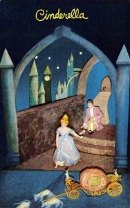 Cinderella, Rock City Gardens, Fairyland Caverns, TN Lookout Mtn c1950s Postcard