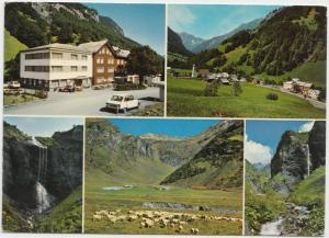 WEISSTANNEN (SG), Hotel GEMSE, Switzerland, used Postcard