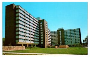 Scott Hall, Wisconsin State University Oshkosh now UW-Oshkosh Postcard