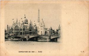 CPA PARIS EXPO 1900 - Italie (306617)