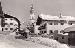 Tirol Oberau in der Wildschonau Austria Postcard