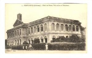 DAHOMEY , Porto-Novo , Hotel des Postes, Telegraphes et Telephones, 1910s