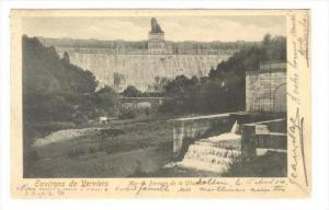 Verviers , Belgium, PU-1904   Mur du Barrage de la Gileppe