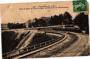 CPA  Saint-Brieuc (C.-d.-N.) - Point de départ de toutes les lignes de..(243453)