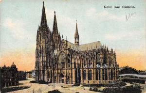 Koeln Dom Suedseite, Cologne Cathedral Die Kathedrale