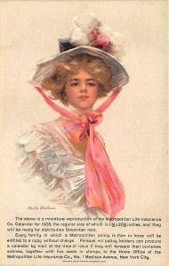 Artist Signed Philip Boileau Metropolitan Life Insurance Advertising Postcard