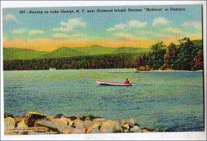 Boating on Lake George NY