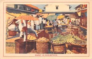 Batavia Indonesia, Republik Indonesia Markt in Oud Batavia Markt in Oud