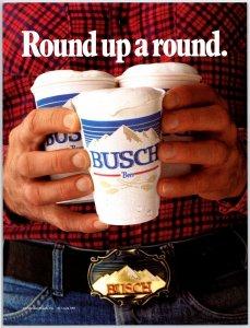 1983 Anheuser Bush Beer Advertising Print Ad N1