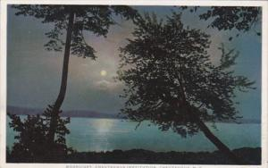 New York Chautauqua Moonlight Scene