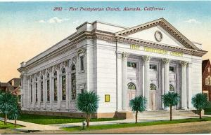 The First Presbyterian Church - Alameda CA, California - DB