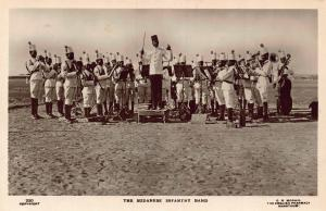 The Sudanese Infantry Band soldiers Sudan Africa Postcard