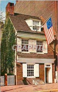 Modern Postcard Betsy Ross House Birthplace of old Glory Philadelphia PA