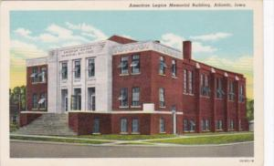 Iowa Atlantic American Legion Memorial Building Curteich