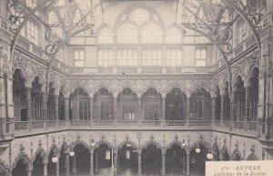ANVERS, Belgium, 1900-1910's; Interieur de la Bourse