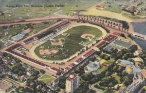 Florida Tampa Aerial View Fair Grounds 1943