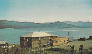 Exterior,  Burwash Landing Lodge, on beautiful Kluane Lake,  Alaska Hwy,  Yuk...