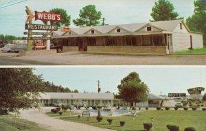 DILLON , South Carolina , 1950-60s ; Webb's Motel , Swimming Pool