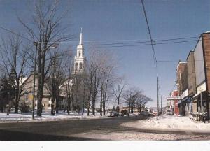 Winter Season, Main Street of Granby, Quebec, Canada, 50-70s
