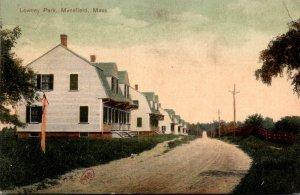 Massachusetts Mansfield Lowney Park 1908