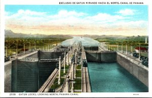 Panama Canal Gatun Locks Looking NOrth