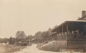 RPPC Camp Maqua near Poland, Maine - pm 1920