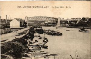 CPA ANDRESY-Fin-d'Oise - Le Pont Eiffel (453245)