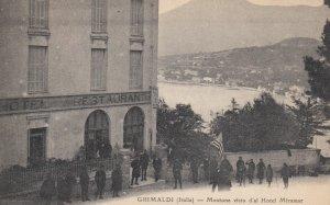 GRIMALDI (Italia) , 00-10s ; Mentone visto d'al Hotel Miramar
