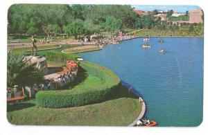 Alcalde Park Guadalajara Mexico 1976 Chrome Postcard