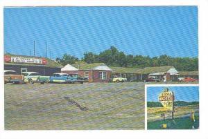 2-Views, Siesta Motel, Platte City, Missouri, 40-60s