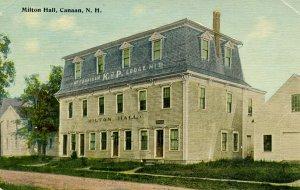 NH - Canaan. Milton Hall