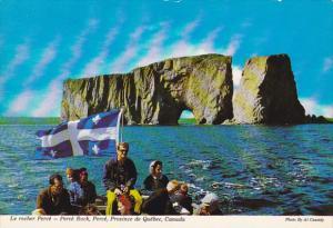 Perce Rock Perce Quebec Canada
