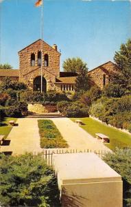 Claremore Oklahoma~Will Rogers Memorial~Museum~Tomb~Gravesite~1957 Postcard