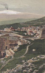 TAORMINA, Italy, 1900-10s ; Ruins