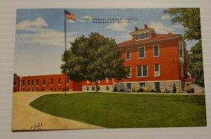 Hopkinsville Kentucky Jenny Stewart Memorial Hospital 1953 VTG Postcard  559