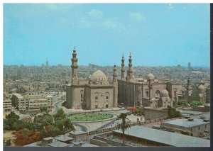Postcard - The Citadel - Sultan Hassan and El Rifai Mosques - Egypt
