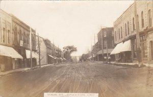 RP: DRAYTON , Ontario , 1916 ; Main Street