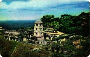 CPM AK Vista General del Palacio Ruinas de Palenque MEXICO (649262)