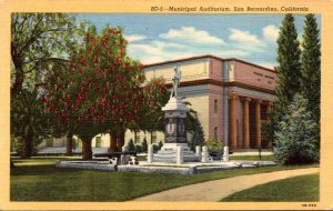 California San Bernardino Municipal Auditorium